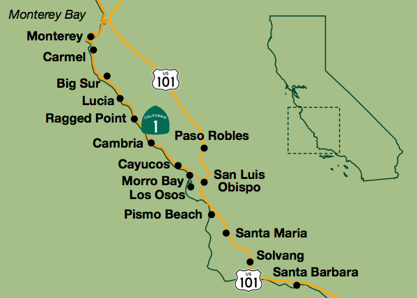 Coastal Self Guided Bike Tour From Slo County